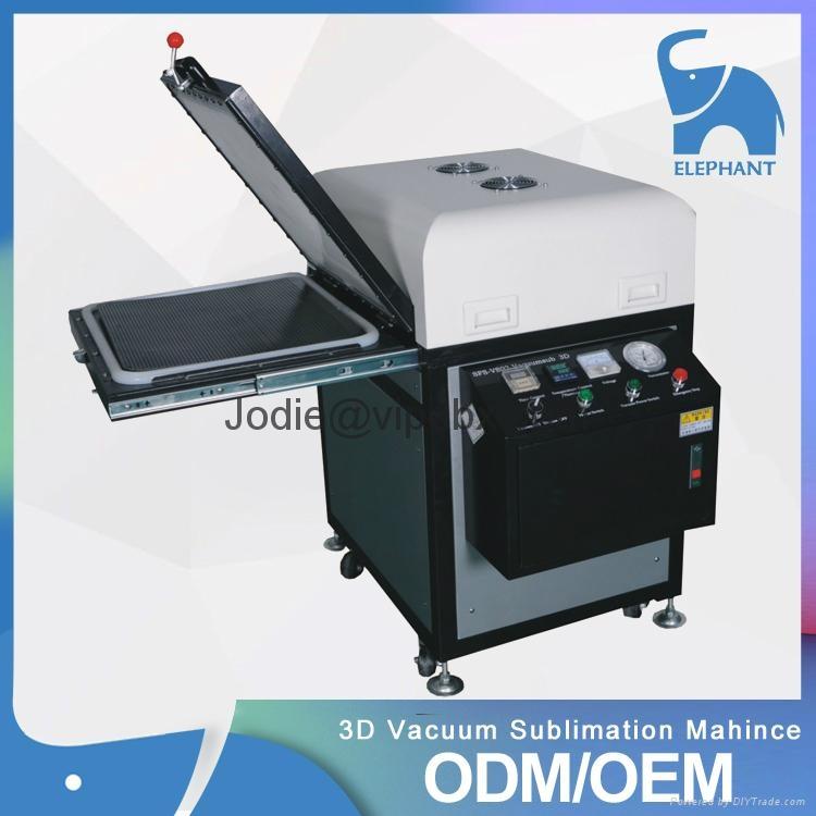 厂家直销 DBX-20B大笨象50CM*45CM3D单工位真空热转印机 经久耐用 1