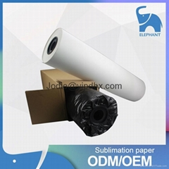 100gsm Sticky Sublimation Transfer Paper Roll