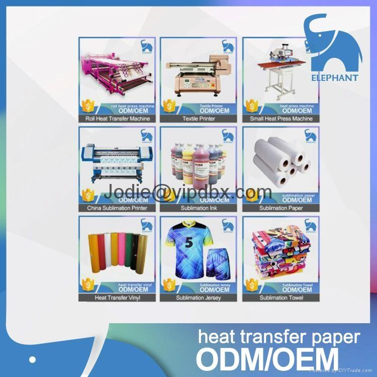 高品质 热升华印花纸A4A3热转印纸 转印度高图文色彩丰富耐用 5