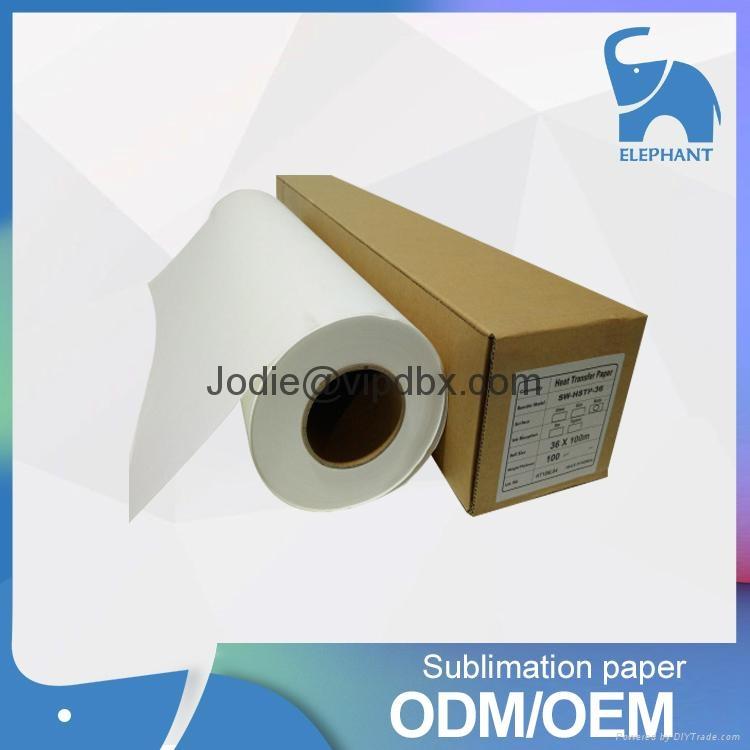 厂家直销 热转印热升华转印纸 高品质转印率高 速干 色彩鲜艳 1