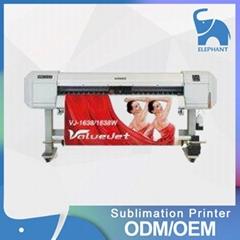 新款 MUTOH武藤VJ-1638/VJ-1638W七代头热升华打印机 保修一年