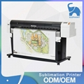 Japan high precision mutoh rj900x sublimation printer for epson dx5 printhead