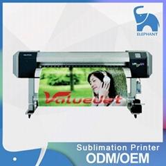 代理數碼打印 1.6米大寬幅MUTOH武藤VJ-1604熱昇華熱轉印打印機