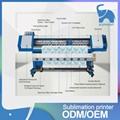 熱銷5113雙噴頭數碼印花機 1.8米大寬幅打印機 熱昇華寫真機 3