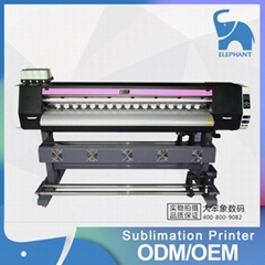 1.8M Sublimation printer with single epson DX5 printhead