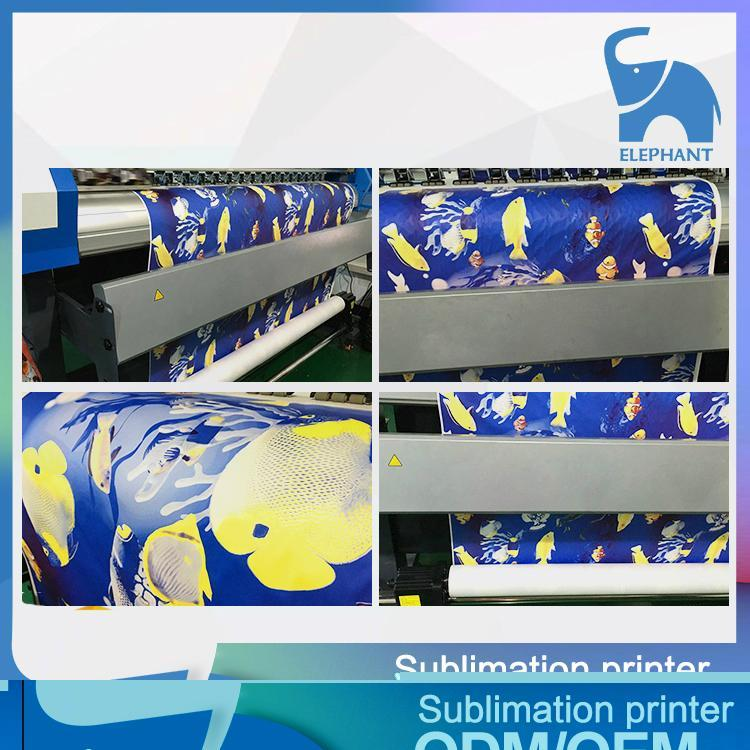 1.8M Sublimation printer with single epson DX5 printhead 4