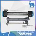 Large format double 5113 print head sublimation textile t shirt digital printer