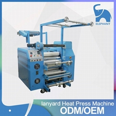 Lanyard sublimation heat transfer pritning machine
