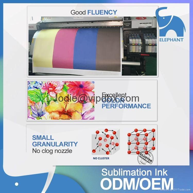 Wholesale price j-next jxs-65 sublimation ink for dx7 4