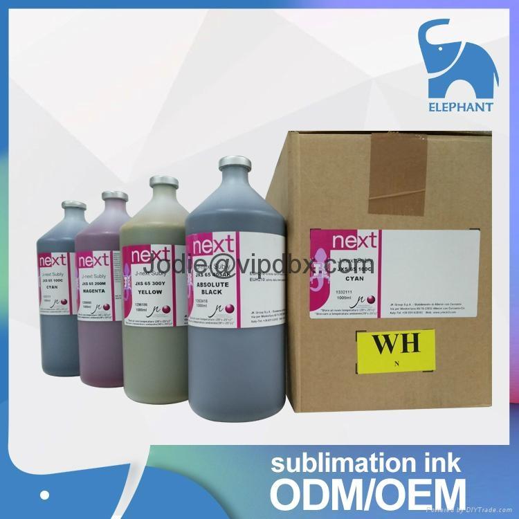 Wholesale price j-next jxs-65 sublimation ink for dx7 1