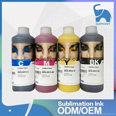 Korea Inktec water based dye sublimation ink for DX7 head printer