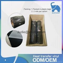 厂家直销 PVC热转印刻字膜热转印膜 适用球服公司LOGO可套色转印