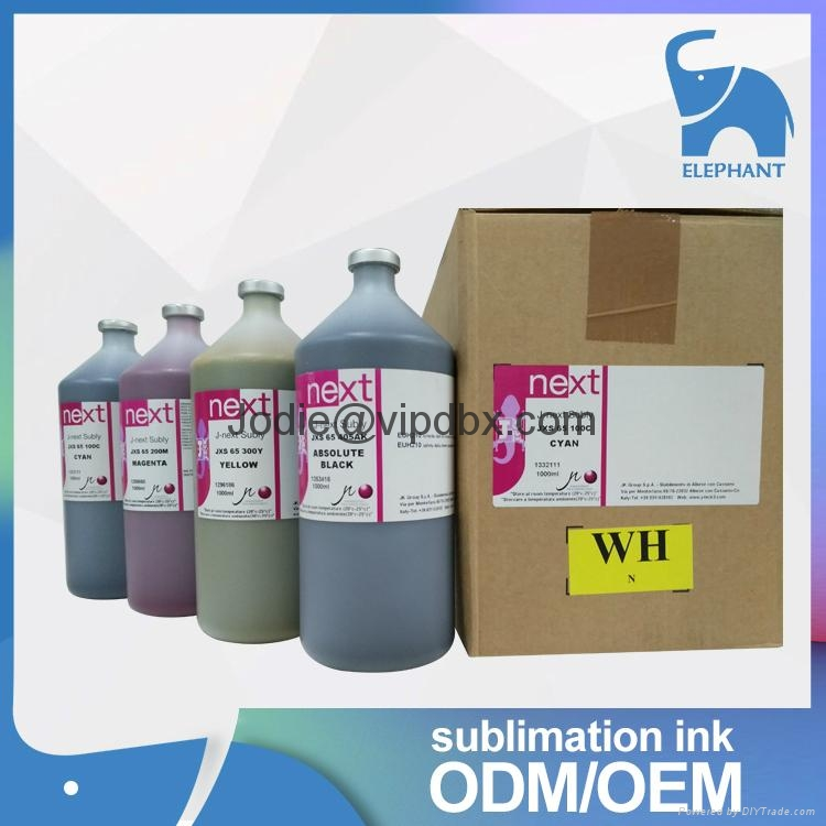 high quality j-teck J-next Jxs 65 dye sublimation ink for mimaki Mutoh Roland