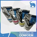 compatible original epson sublimation ink with chips for F6200/F6070/F9200 5