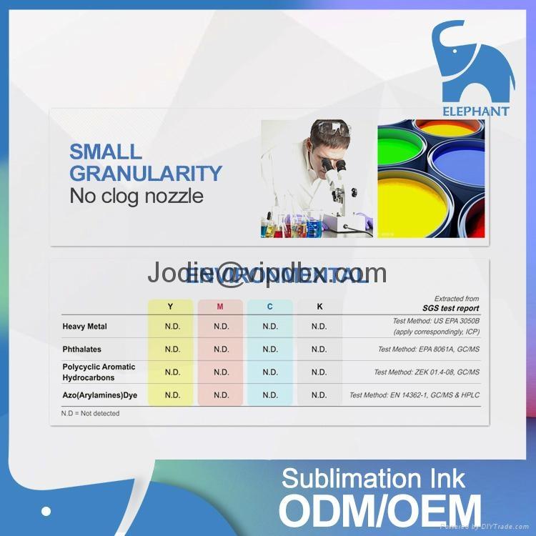big sale wholesale price digital printing korea sublimation ink 3