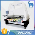 Auto feeding laser cutting machine with SCCD camera for textile printing 1