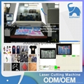Auto feeding laser cutting machine with SCCD camera for textile printing 2