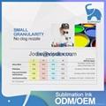best quality fluorescent bulk dye DX5 sublimation heat transfer printing ink 6