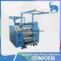 high speed lanyard printing roller heat transfer machine for ribbon printing