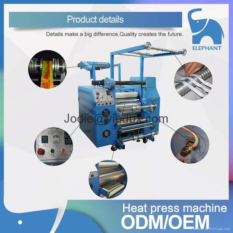 廠家直銷 新款多功能織帶印花機 熱轉印織帶挂繩印花廠 4
