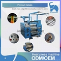 high speed lanyard printing roller heat transfer machine for ribbon printing 4