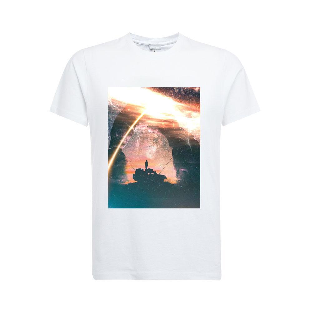 批发热升华3D印花客制化订制T恤 3
