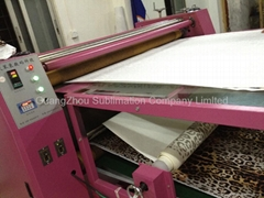 oil Heat Transfer Machine for press clothing