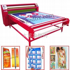 Heat transfer printing machine for textile