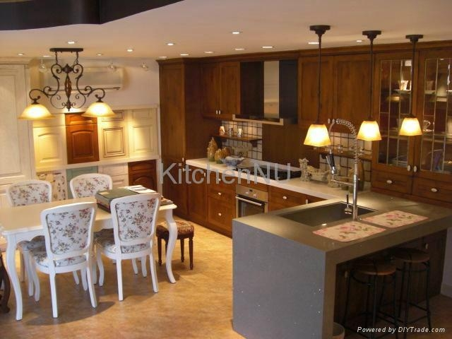 n e a trading kitchen cabinets solid wood kitchen cabinet 實木廚櫃 solid wood kitchen n u 23654
