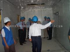 1-10k净化工程、机电安装、空压、氮气等