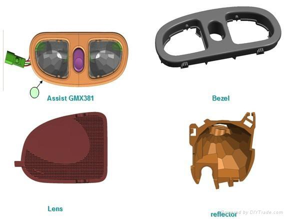 汽车配件注塑模具