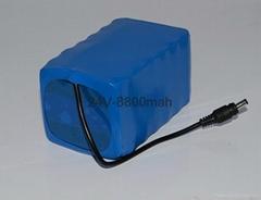 投光灯锂电池