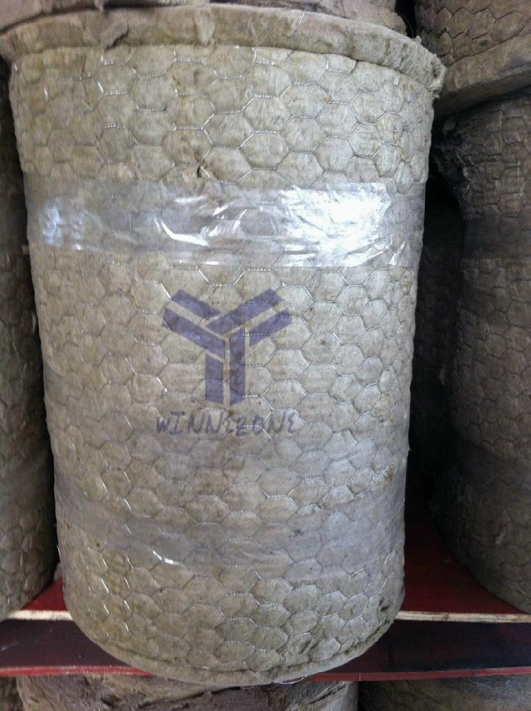 Rock wool blanket mineral wool roll winnezone china for Stone mineral wool