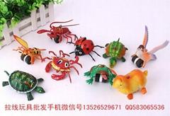 拉線動物玩具