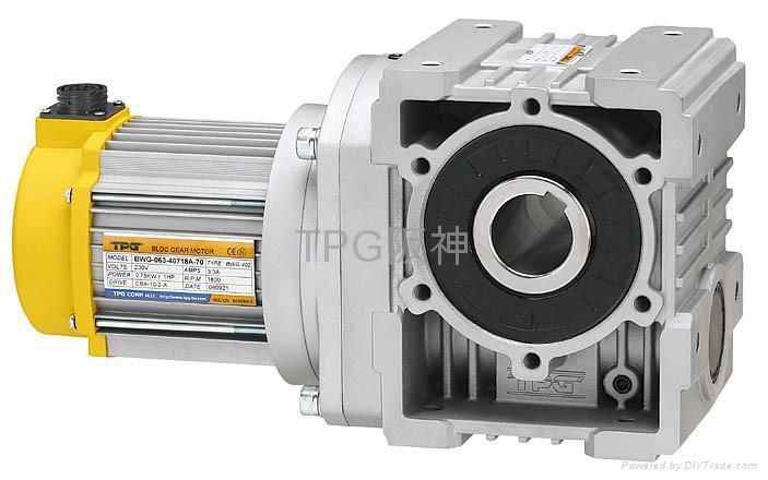 TPG直流无刷齿蜗减速机 1