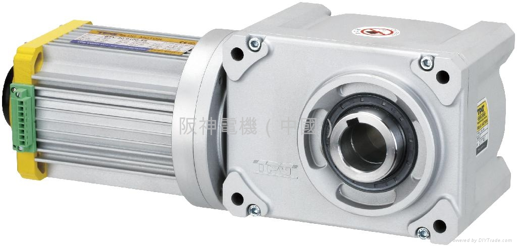 Tpg brushless hypoid gear motor bf type tpg motors for Brushless dc motor suppliers