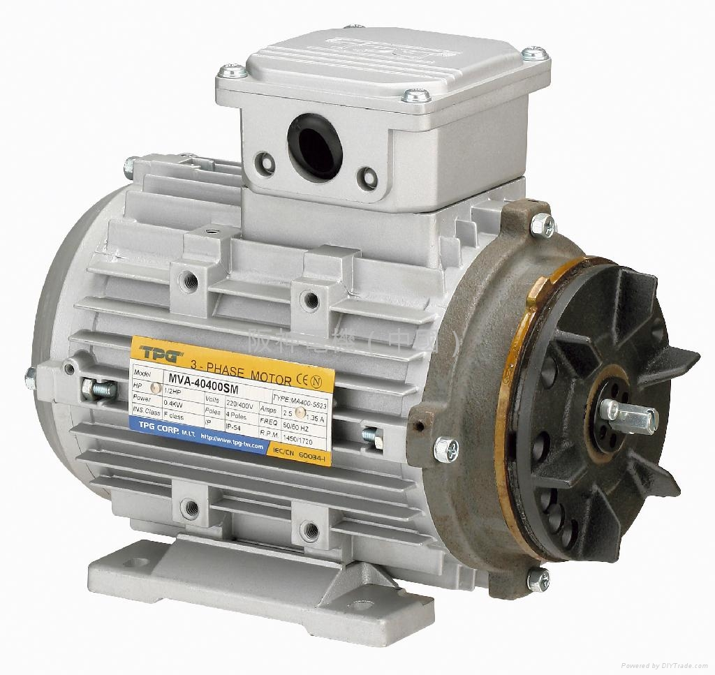 Tpg Brake Motors Mvam Type Tpg Motors Drives Taiwan