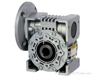 Servo Motor And Shaft Worm Gear Reducer Wsm Tpg