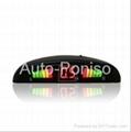 LED car parking sensor rader