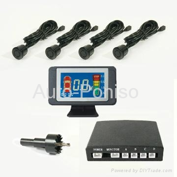 LCD reverse parking sensor system factory