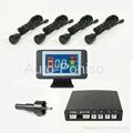 LCD reverse parking sensor system
