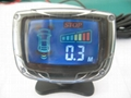 Latest LCD car parking sensor