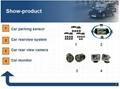 wireless Car rear view camera waterproof /manufacture