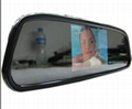 3.5 INCH CAR MIRROR BACKUP SYSTEM WITH CAMERA Model: AP352+camera