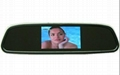 4.3inch car mirror monitor/car bluetooth kit/car rear view system
