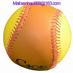 9 Inches Customized US Training Real Leather Baseball