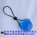 TPR Basketball Shape TPE Grip Ball