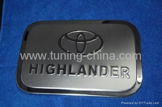 Toyota Highlander 2009 gas tank cover  1