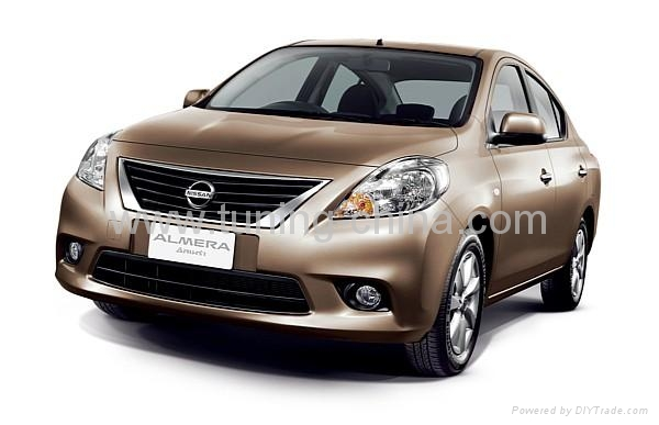 Almera 2011  headlamp trim 2