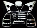 Chrome accessories for Toyota Prado FJ120 03-07
